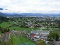 ジャンプ台から見た風景